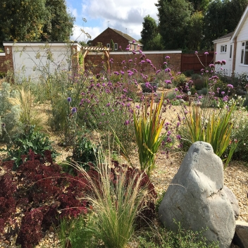 A Mediterranean Gravel Garden